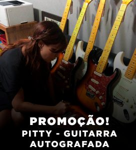 Pitty – Guitarra Autografada