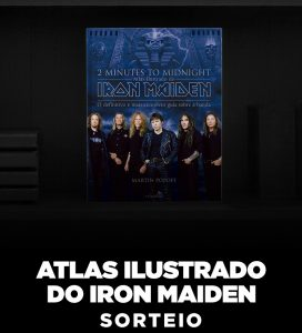 "Livro ""2 Minutes to Midnight – Iron Maiden"""
