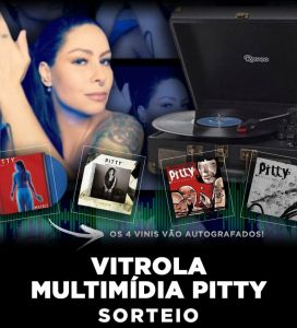 Vitrola Multimídia Pitty