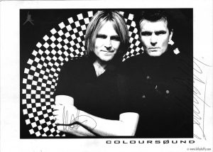 Coloursound, dupla de rock formada por Billy Duffy, guitarrista do The Cult, está de volta!